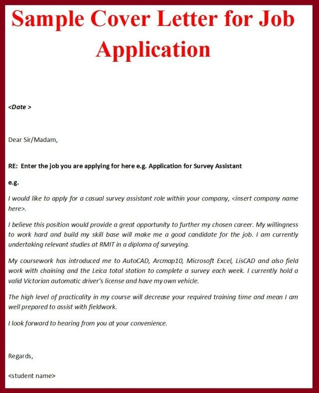 27 Example Of Cover Letter For Job Writing Formal Letters Need A Sample Condolence