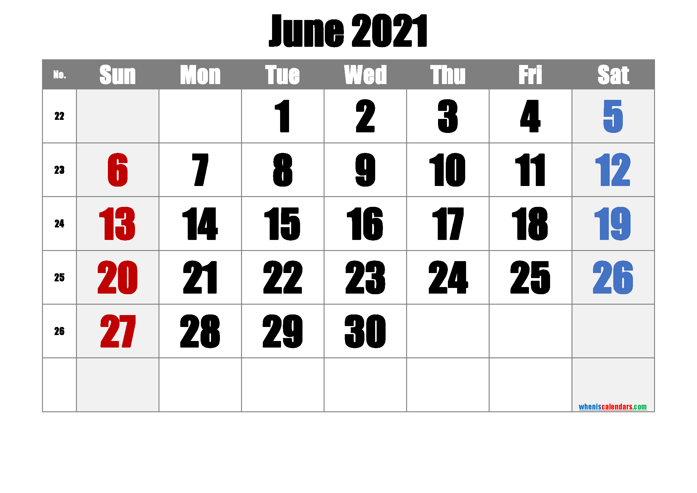 Free June 2021 Calendar Free Premium In 2020 Calendar Printables June Calendar Printable Printable Calendar Template