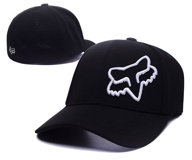 newest collection de859 856a5 ... 59fifty fitted whiteblack no2433 76b11 c023b  spain mens womens fox  racing flex 45 flexfit adjustable baseball hat black white d56cb 56385