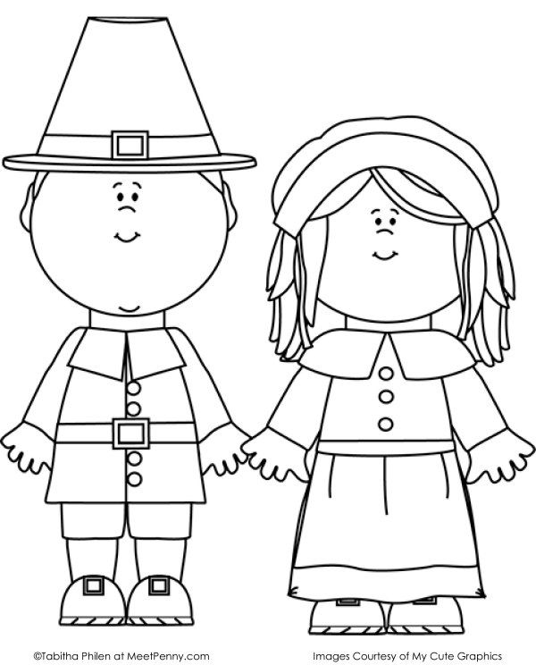 130+ Thanksgiving Coloring Pages For Kids - The Suburban Mom | Free ...