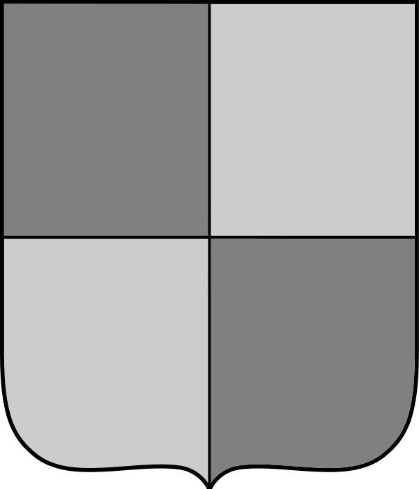 Quartered Shield Base By Free Clip Art Shield Template Free Clipart Images