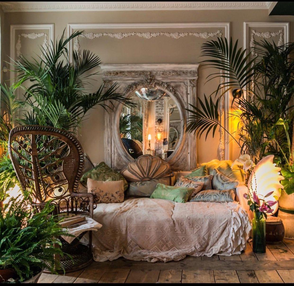 55 Bohemian Living Room Decor Ideas: Pin By Farwah W On Aesthetics