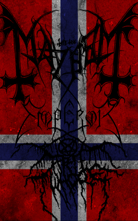 Have I told you about my love for Norwegian black metal ...