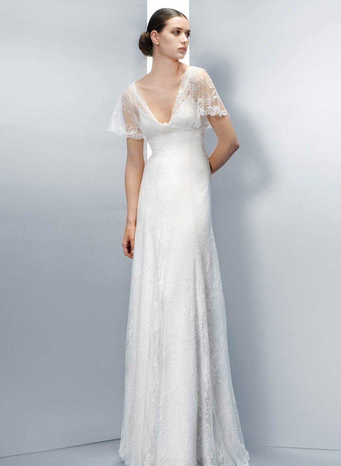 Wedding Dress of the 1940s - PIN Blogger | Dresses | Pinterest