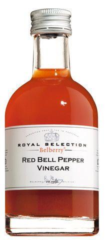 Red Bell Pepper Vinegar, Roter Paprikaessig
