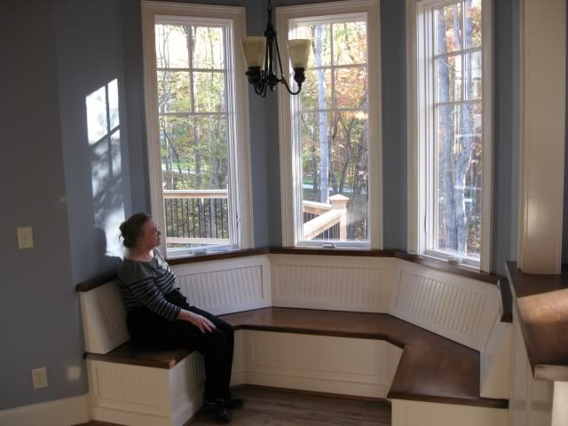 Breakfast Nook Designs Pic Attached For Breakfast Nook Seating Ideas Kitchens Forum Breakfast Nook Seating Banquette Seating In Kitchen Bay Window