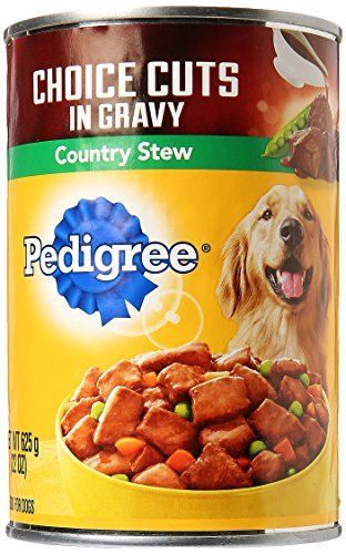 Pedigree Choice Cuts In Gravy Country Stew Canned Dog Food 22 Oz