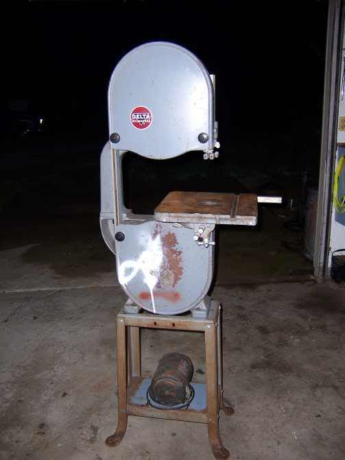 1949 Delta Milwaukee 14 Band Saw Bandsaw Delta Power Tools Metal Shop