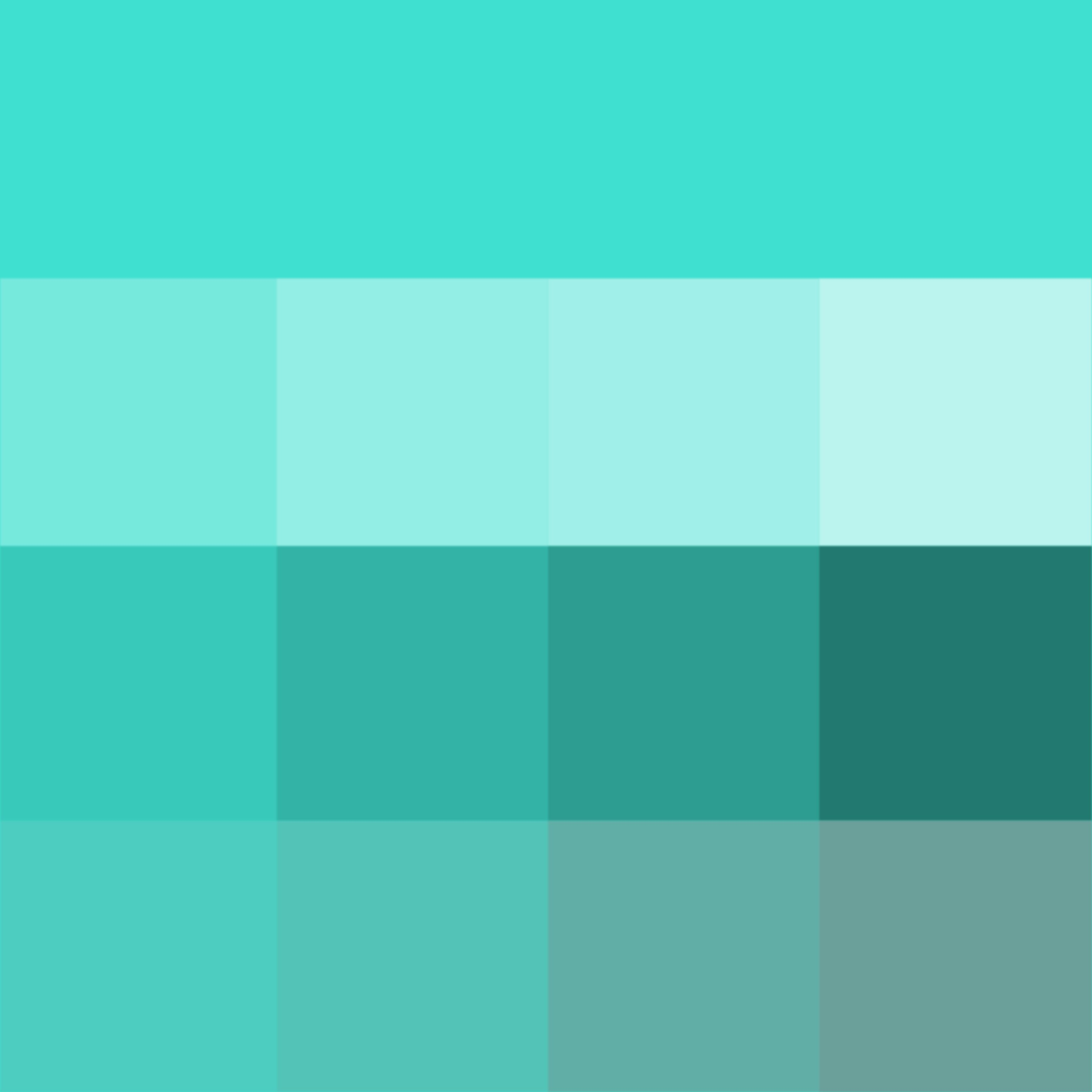 Turquoise (web) (Hue) ( pure color ) with Tints (hue + white ...