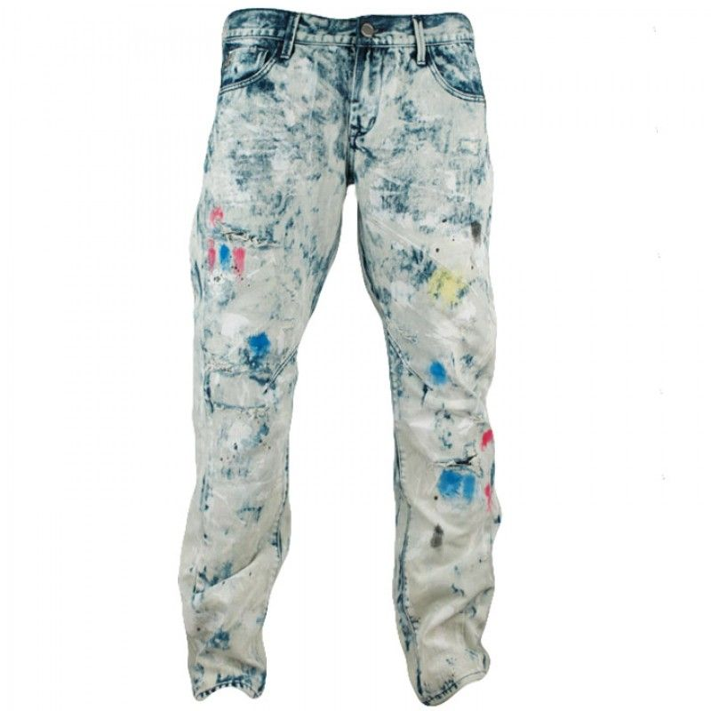 The Grindhouse Sponged Color Wash Denim Is Available On Citygear Com Mens Outfits Athletic Inspired Fashion Denim Wash