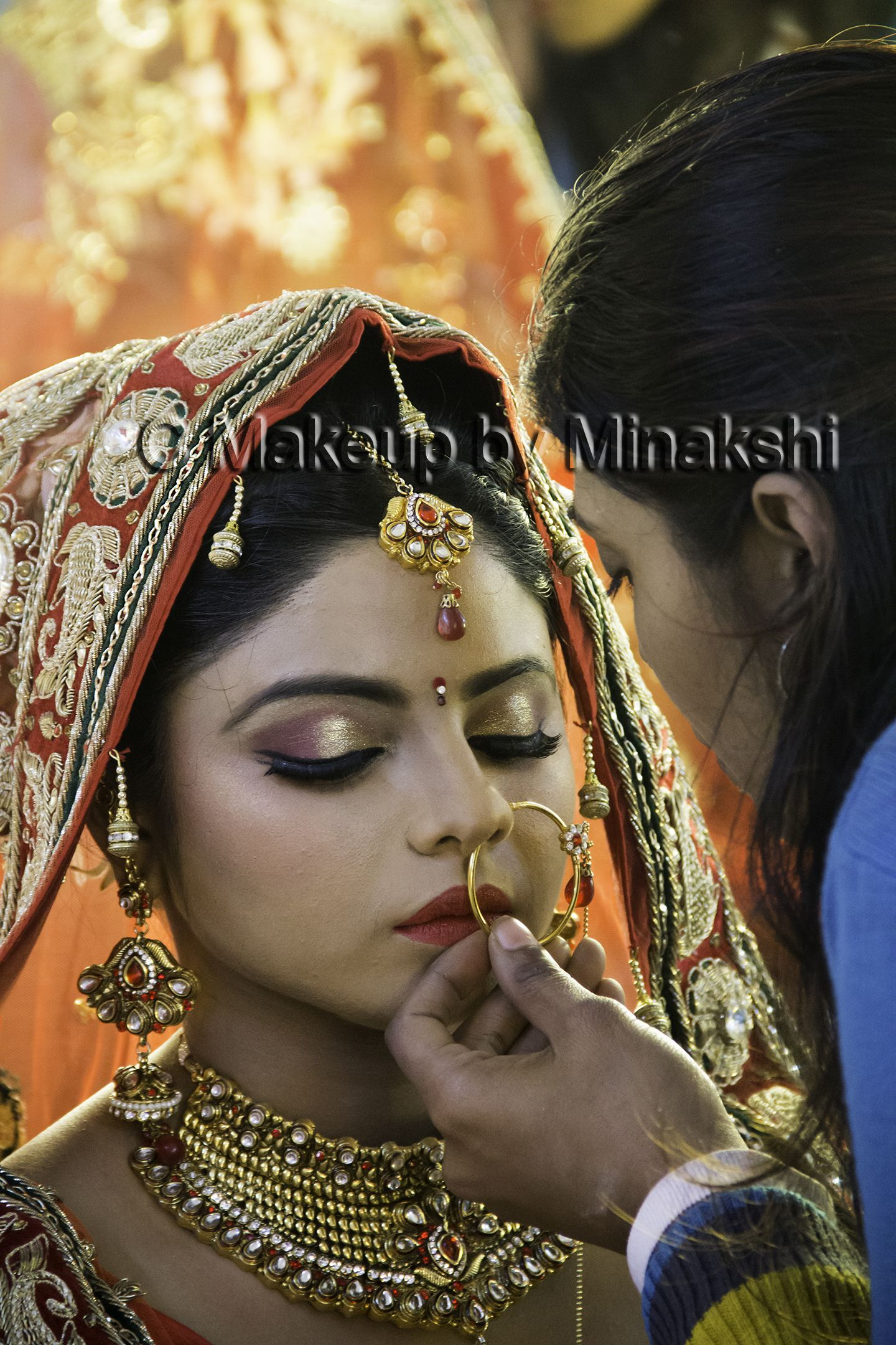 Bridal Makeup by MJ in Lucknow. Professional Makeup Artist