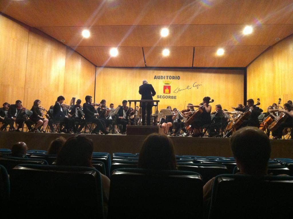 """Excelente Concierto el ofrecido por la Joven Orquesta Sinfónica de Castellón en el Auditorio """"Salvador de Seguí"""", de Segorbe"""