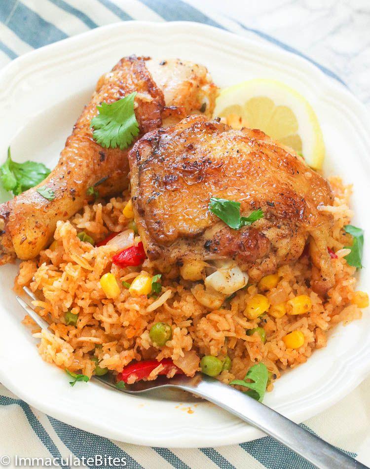 Arroz con Pollo | Recipe | Biryani recipe, Whole food ...