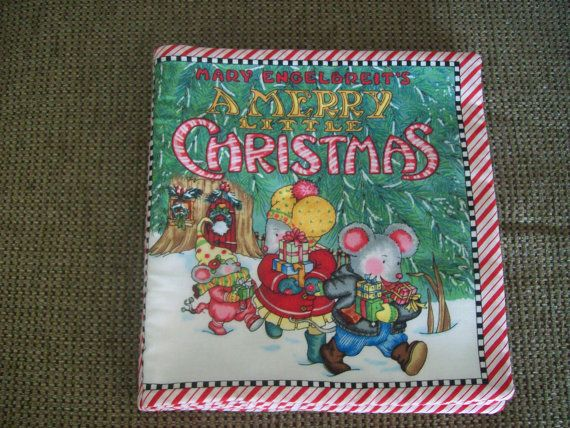 Children's Cloth Story Book Handmade by sicillyscloset on Etsy