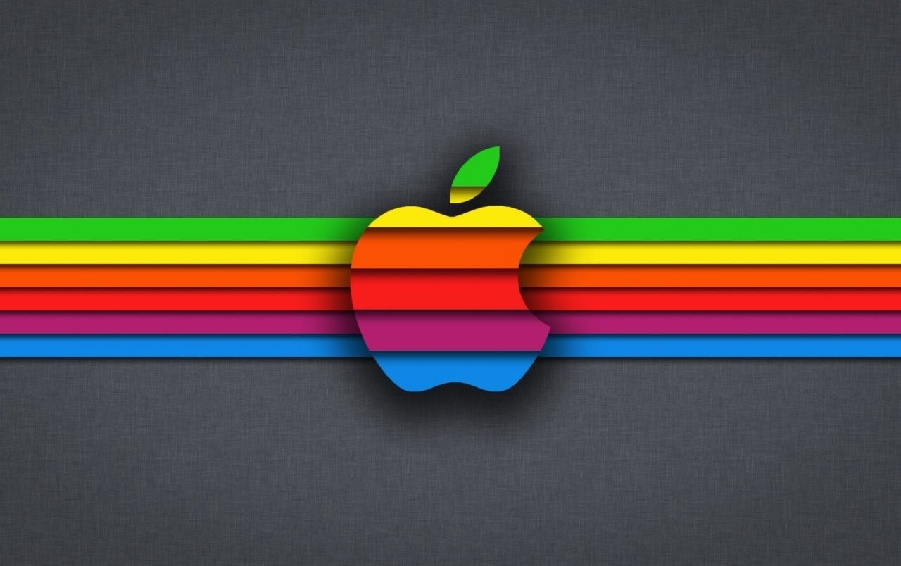 Multi Color Apple Iphone Wallpapers
