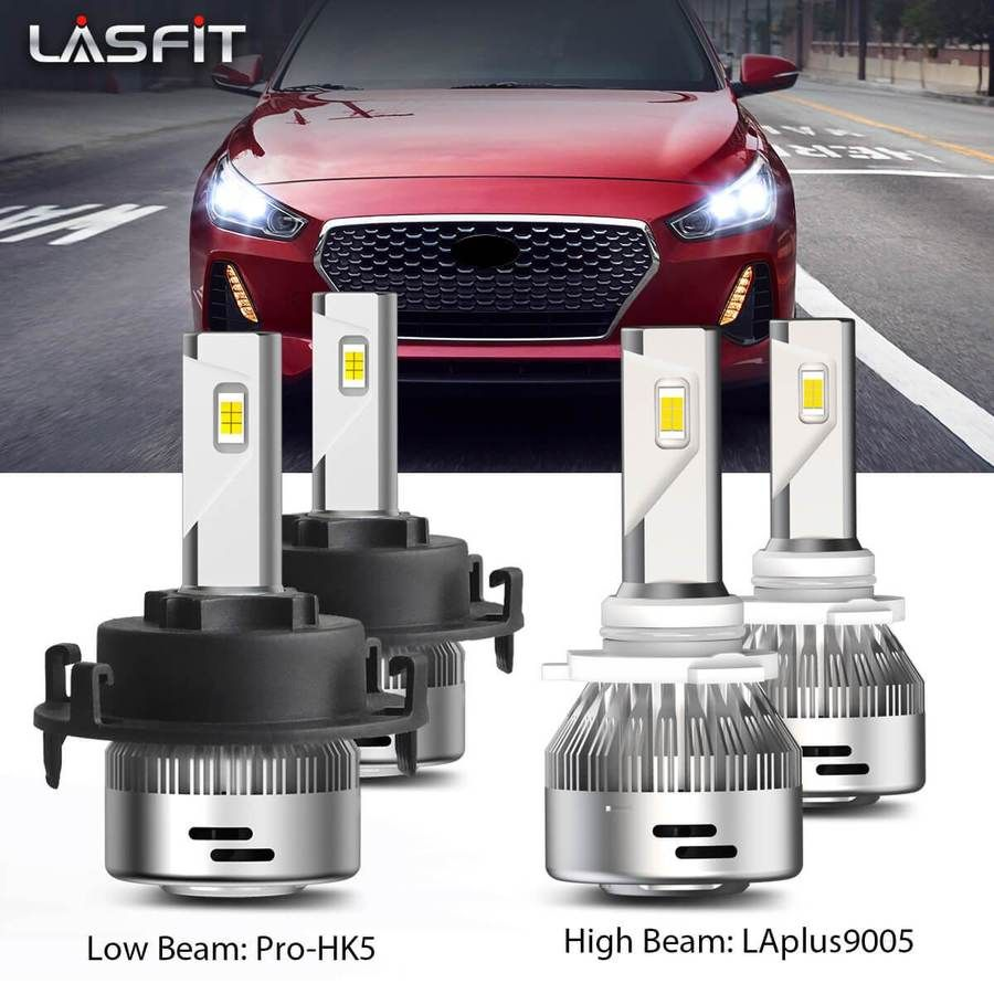 Led Headlight High Low Beam Led Headlights Car Lights Beams