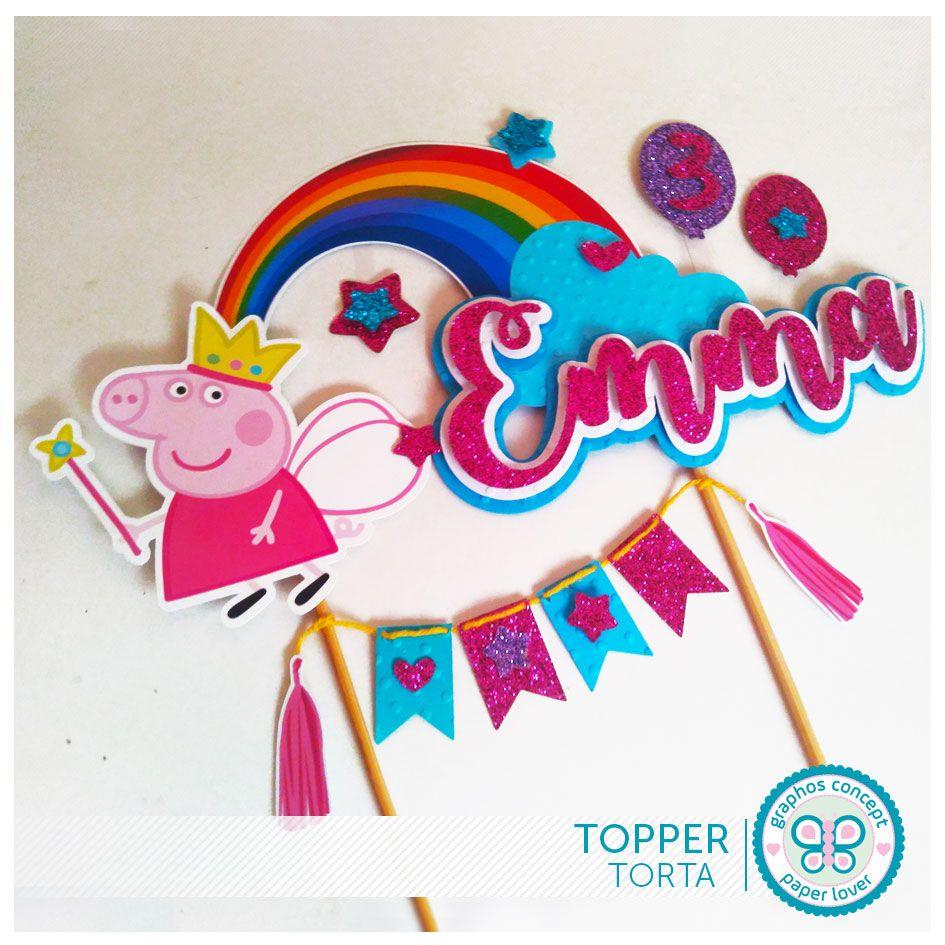 Tarjeta De Cumpleaños Peppa Pig nieta 1st envoltorio de regalo nuevo