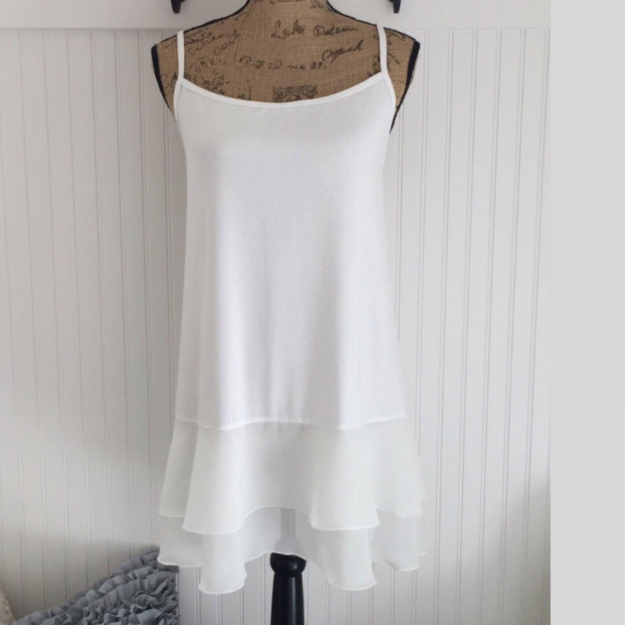 Modest Opaque Lace Dress Extender HALF SLIP *Style 2 Lined* size S-4XL Plus Size