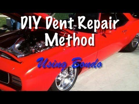 Diy dent repair using bondo diy how to auto body and paint video diy dent repair using bondo solutioingenieria Gallery