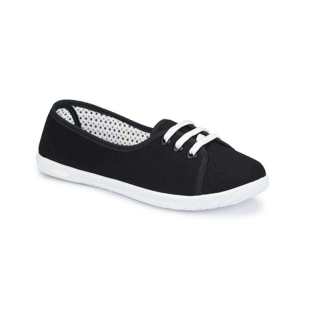 Polaris 81 311591 Z Siyah Kadin Babet Big 1 Babetler Sneaker Ayakkabilar