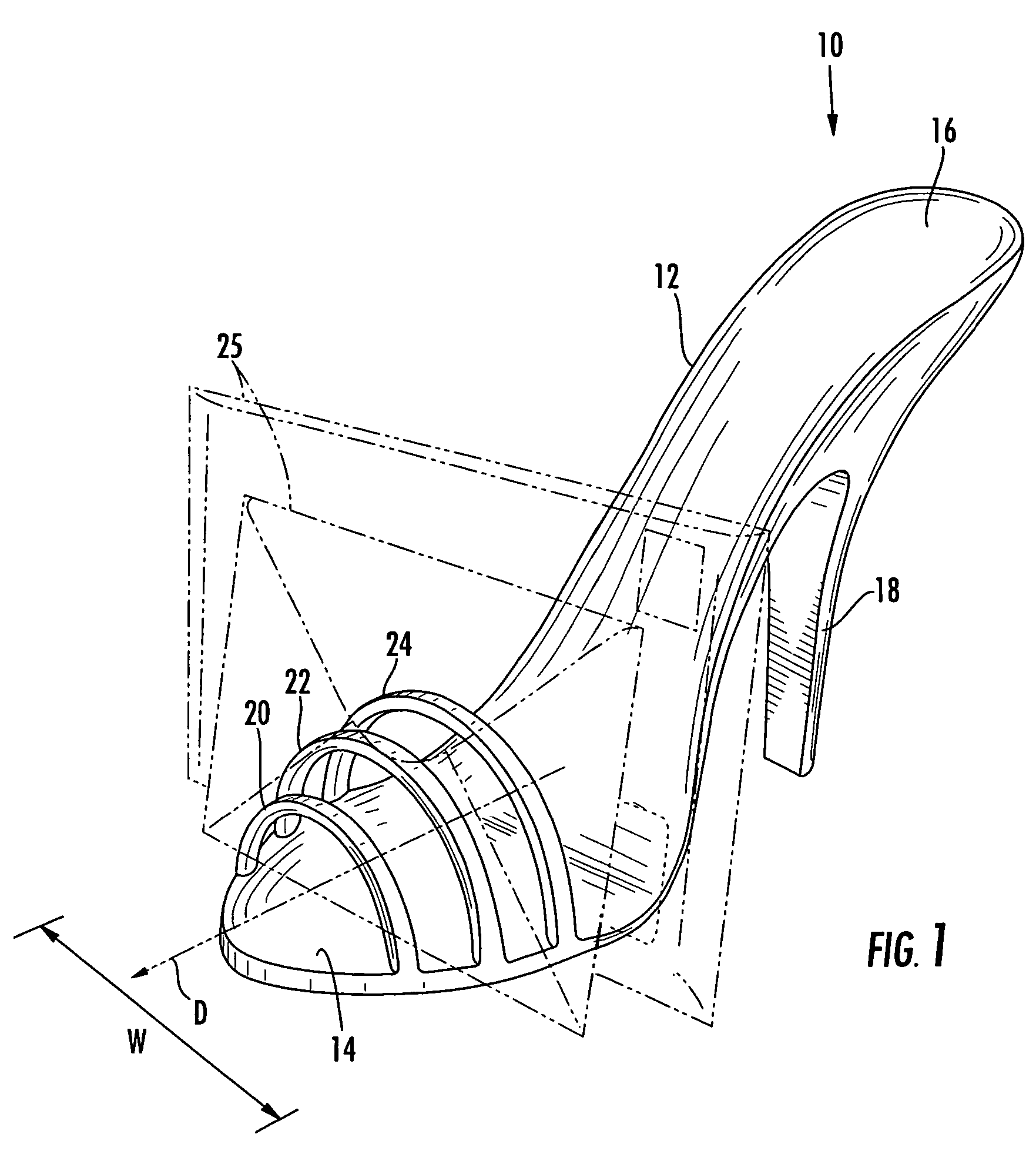 High Heel Shoes Drawing Patent Drawing