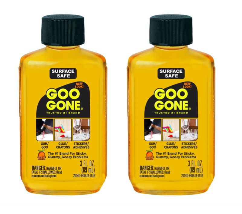 Details about 2Pack Goo Gone Degreaser Remove Sticker Tar