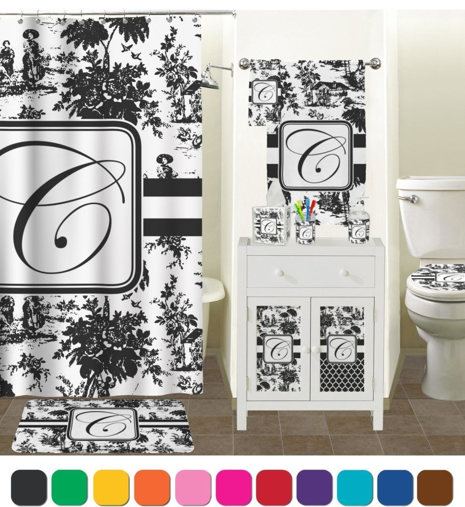Toile Bathroom Accessories | Bathroom Accessories | Pinterest ...