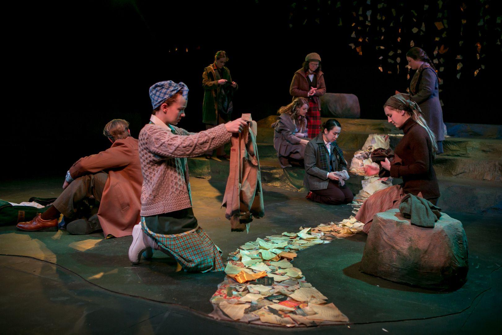 (a love story) Lockerbie, Theatre set, Image
