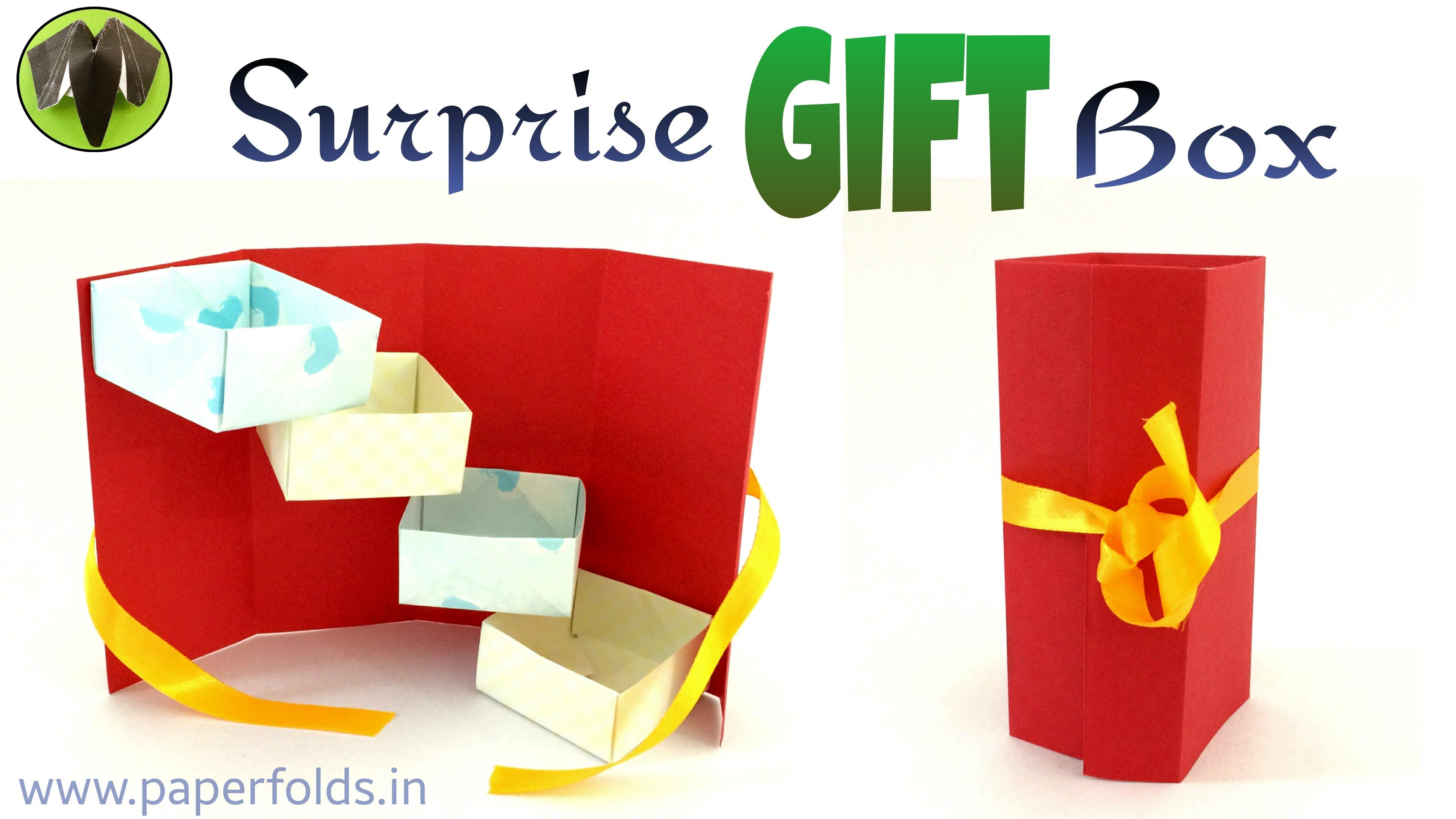 This video tutorial will teach you to make a gift box which is this video tutorial will teach you to make a gift box which is useful to storing small things and pack small gift items for various occasions negle Image collections
