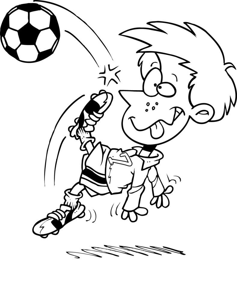 Free Printable Soccer Coloring Pages For Kids Coloring Pages For