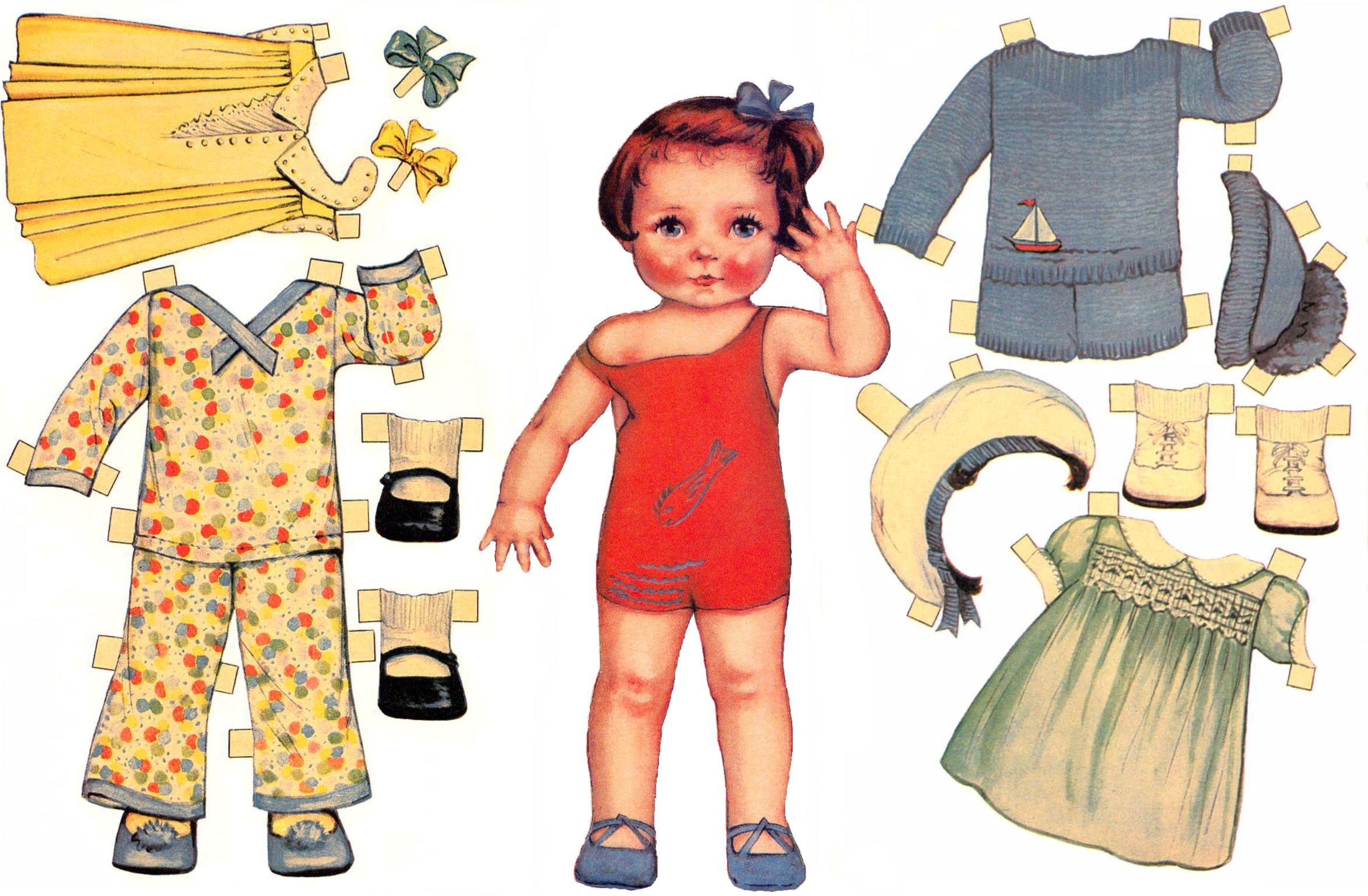 paper dolls - HD2346×1536