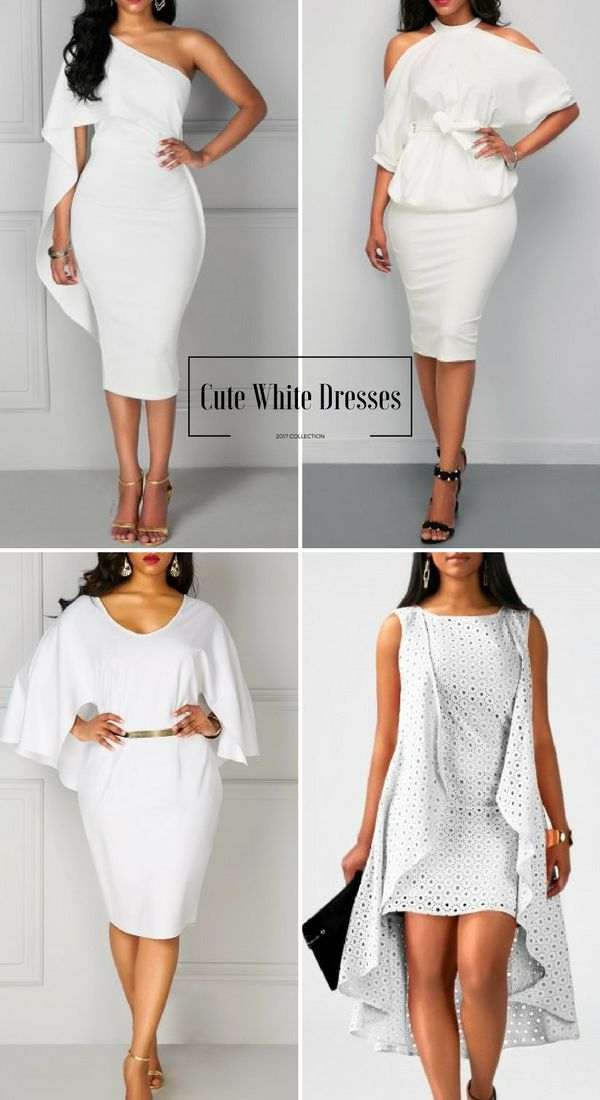 c49609f260 Cute White Dresses For Women, Up to 60% Off #liligal #dresses #womenswear # womensfashion