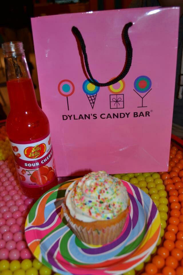 Cupcake & soda