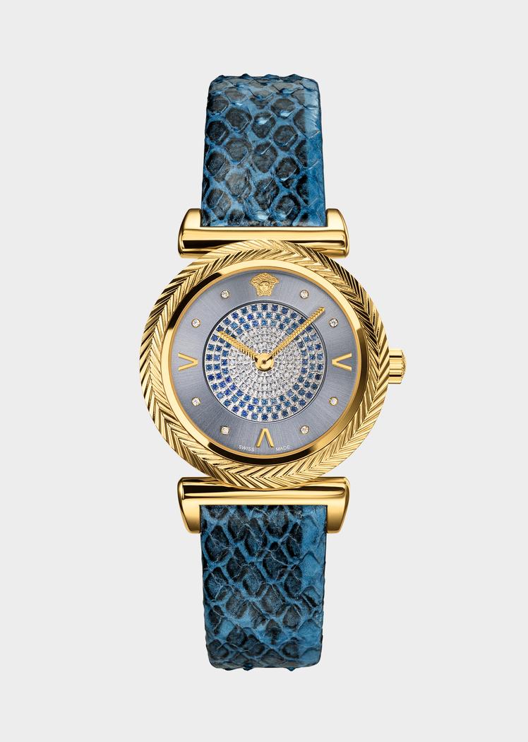 18e27315bc Blue V-Motif Luxe Watch for Women | Online Store EU in 2019 ...
