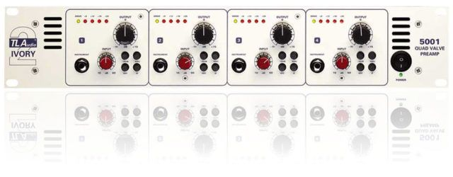 TL Audio 5001 4-Channel Tube Mic Preamp | Music gear I use | 4