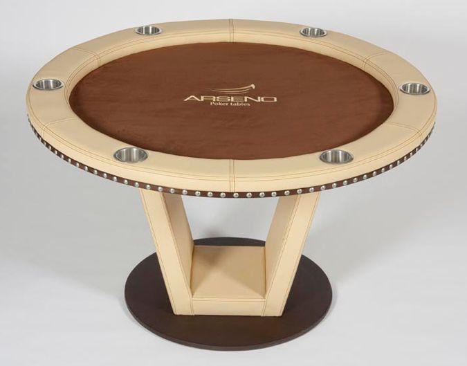 Arseno Round Poker Table