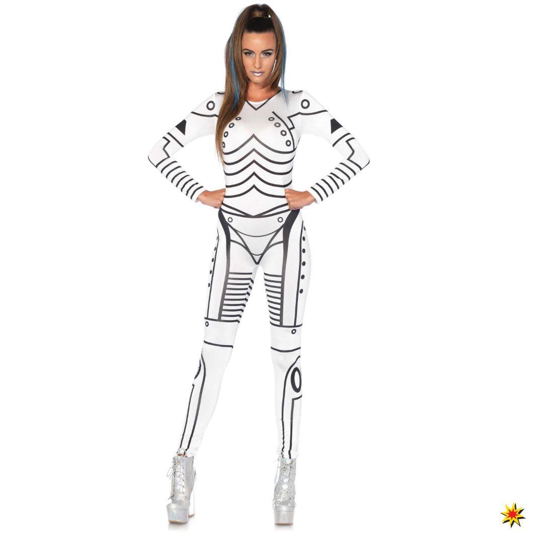 Kostum Sexy Roboter Ashgrosse S