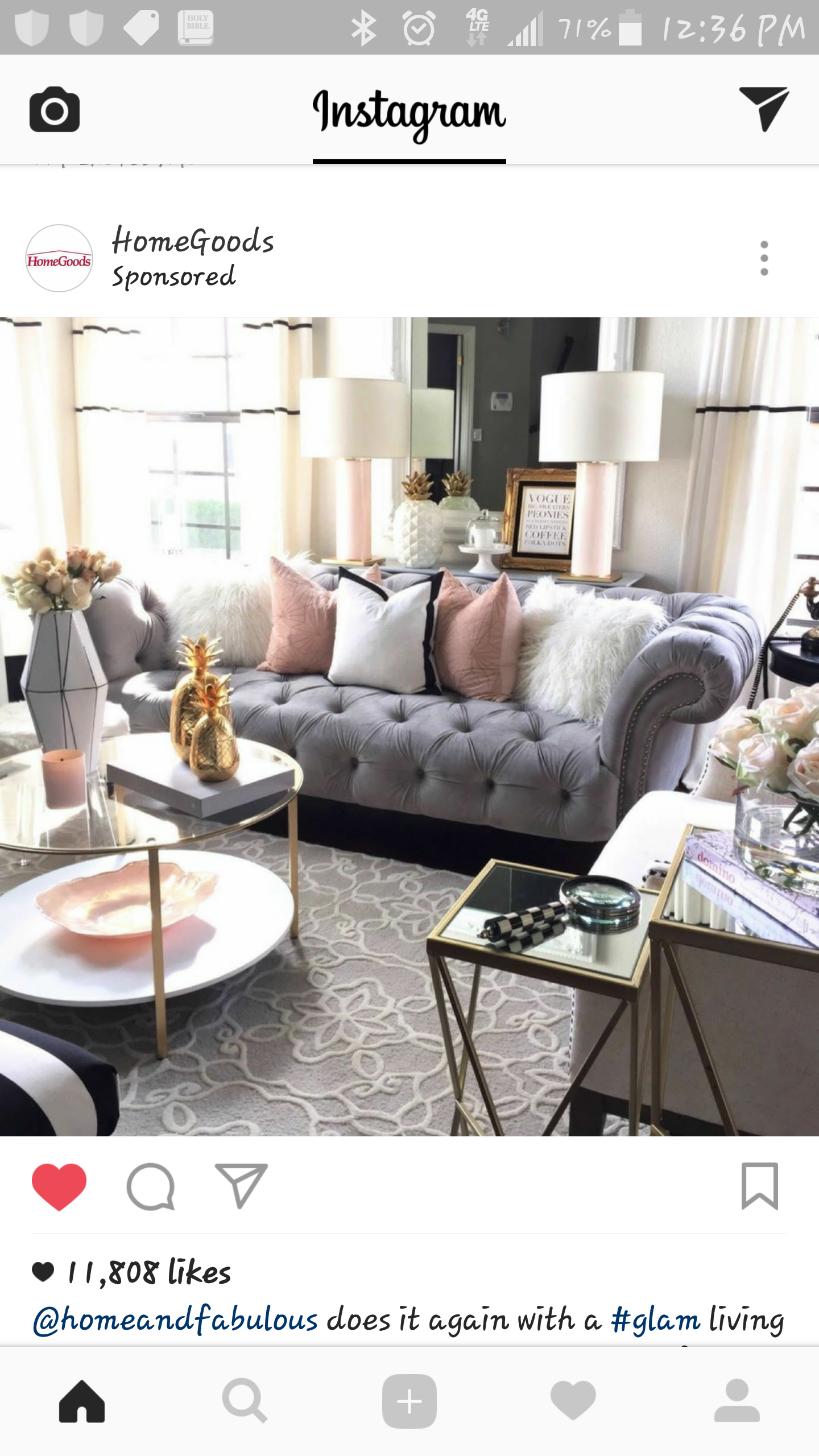 Wohnzimmer Ideen Chesterfield Grey And Blush Living Room Decor Home Decor Wohnzimmer