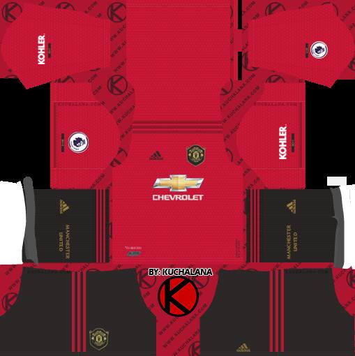 Manchester United Dream League Soccer Kits Logo Url 2017 2018 Soccer Kits Manchester United Manchester United Away Kit