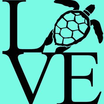 Shop Turtle Vinyl Decals On Wanelo Nautical Coastal