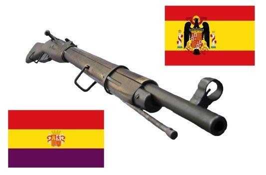 Spanish Civil War Weapons   The Spanish Civil War Mosin Nagant