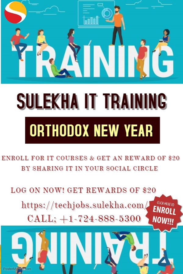 Sulekha IT Training Wishes Orthodox New Year to all of you folks