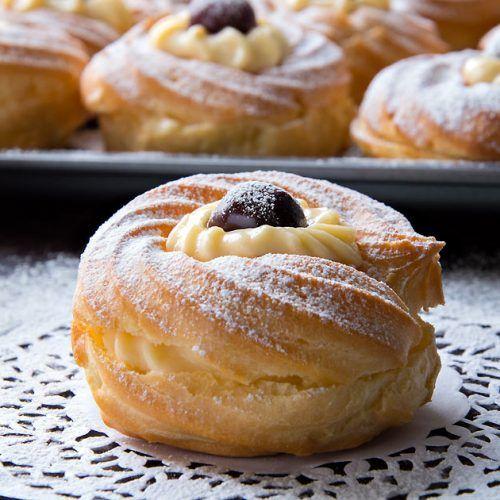 St.Joseph's Pastries {Zeppole di San Giuseppe} - Italian Recipe Book