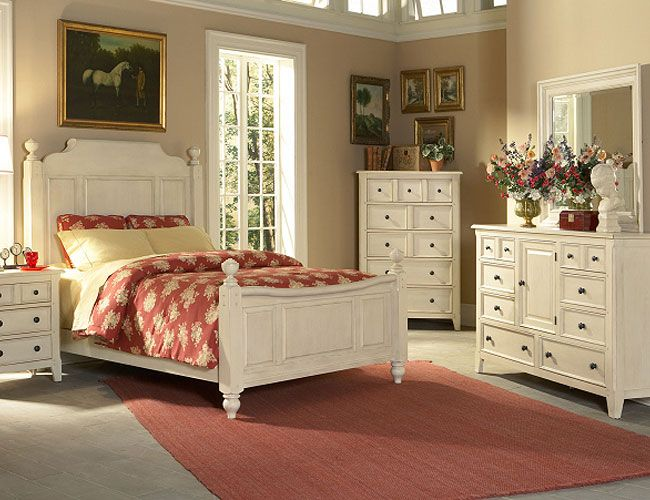 Country Bedroom Decorating Ideas: Classic-Country-Style-Bedrooms-Decor-5