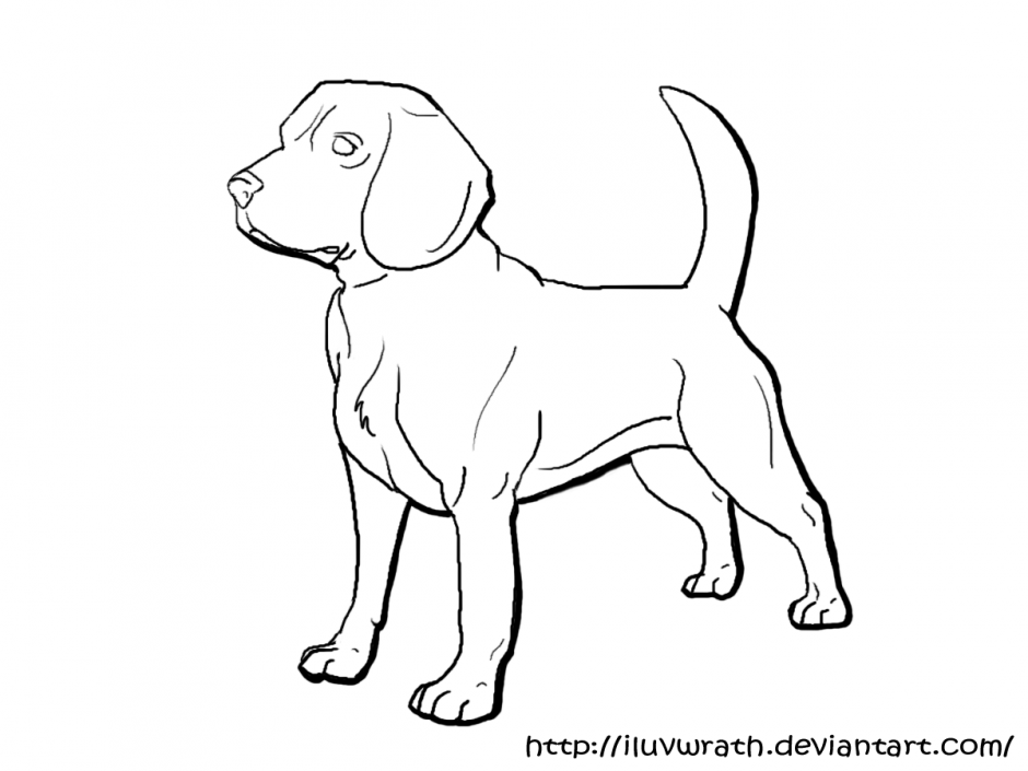Beagle Coloring Pages - AZ Coloring Pages | Animal ...