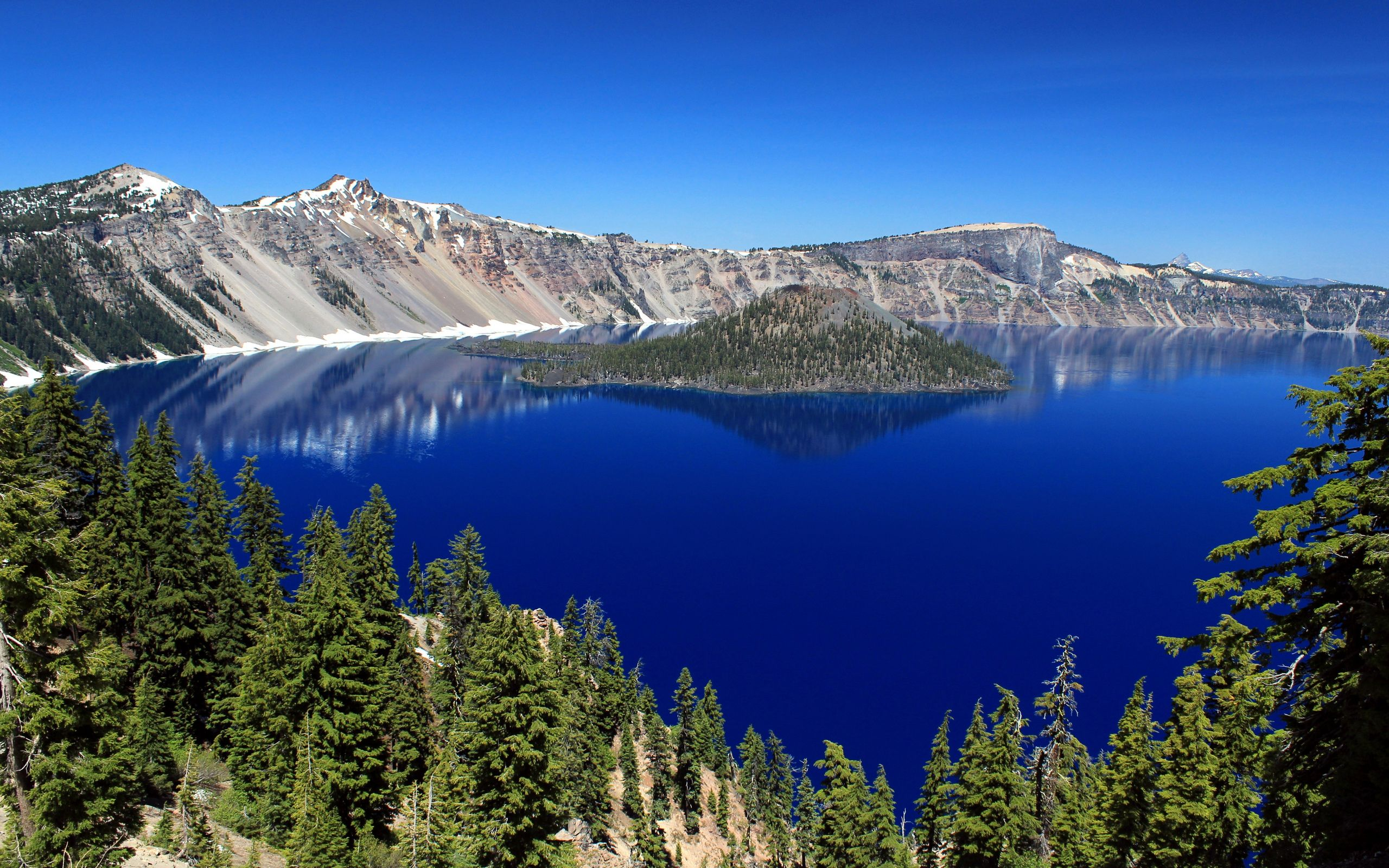 HD Crater Lake Wallpaper Download Free National - 10 cool landmarks in crater lake national park