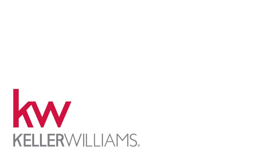 back-9015w - small kw logo on lower left corner over white