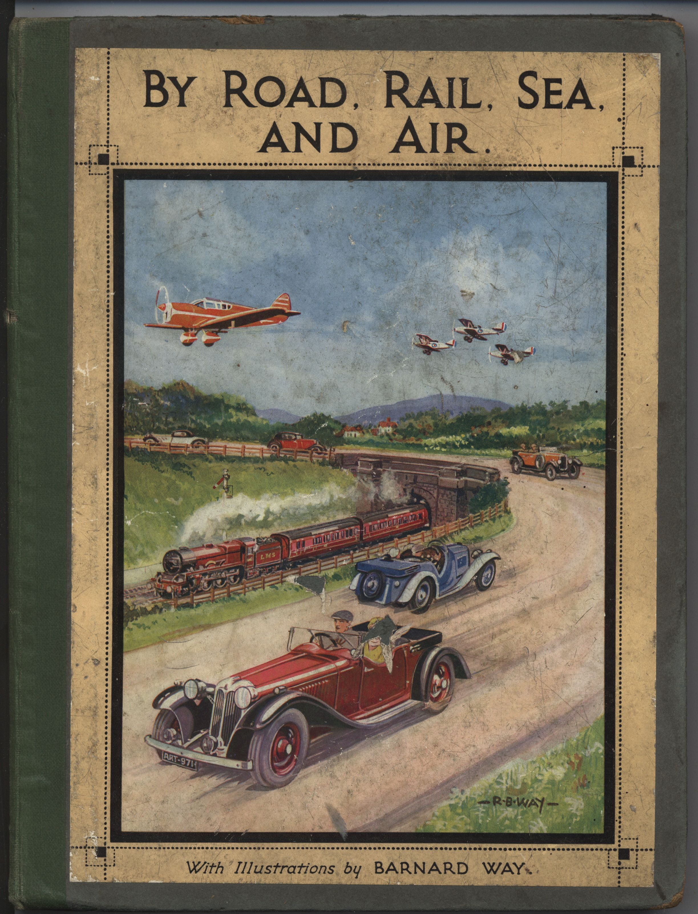 BY ROAD, RAIL, SEA, AND AIR cars, planes, and trains   Charming ...