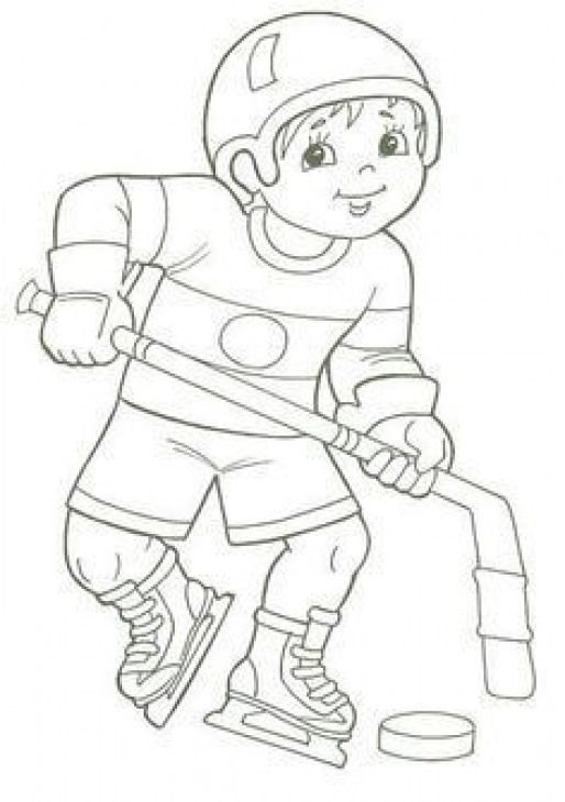 Wintersport Winter Sport Coloring Pages Kolorowanki
