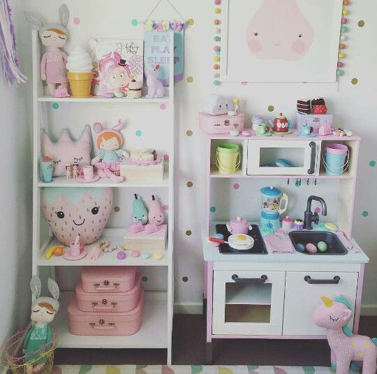 Pinterest ary4dn4unicorn kids playroom ideas for Muebles habitacion infantil nina